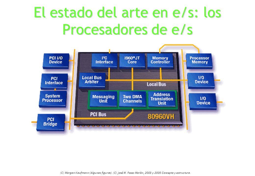 El estado del arte en e/s: los Procesadores de e/s