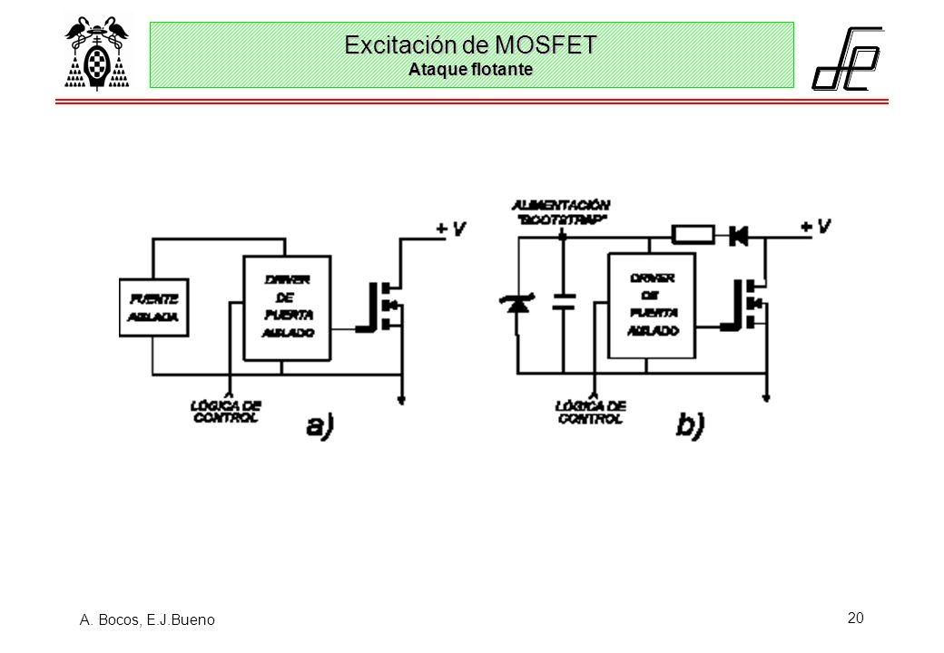 Excitación de MOSFET Ataque flotante