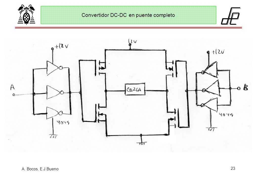 Convertidor DC-DC en puente completo