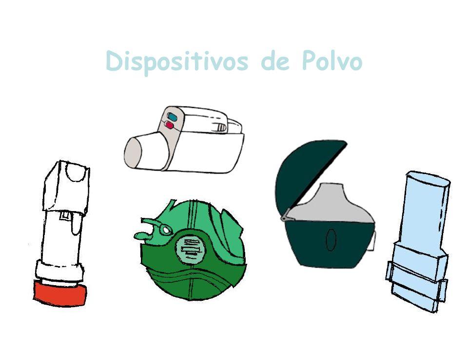 Dispositivos de Polvo Sistemas de administración de polvo en formato monodosis o multidosis.