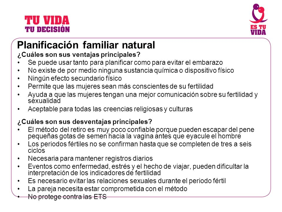 Planificación familiar natural