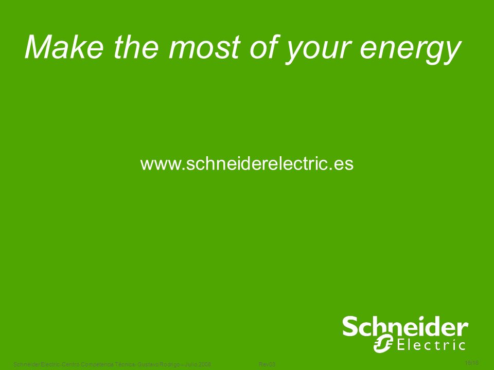 Make the most of your energy