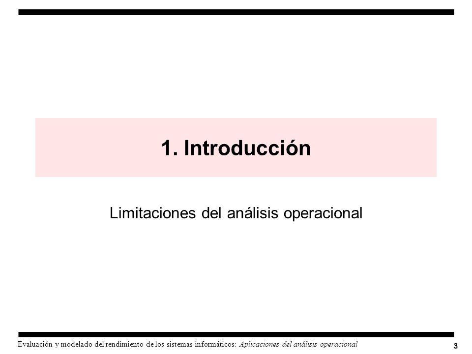 Limitaciones del análisis operacional