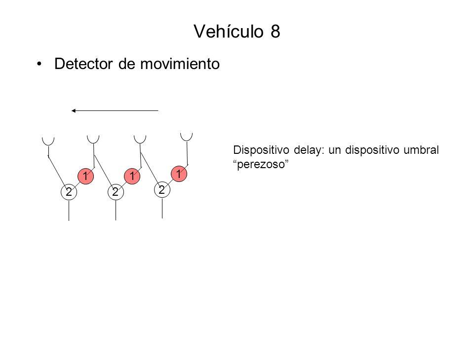 Vehículo 8 Detector de movimiento