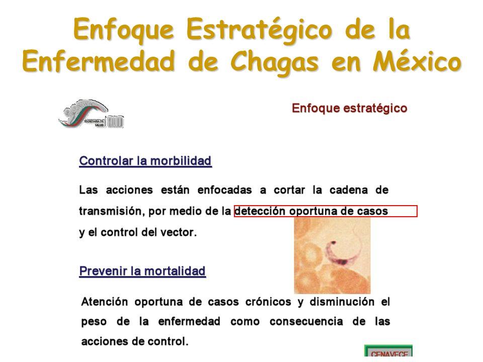 Enfoque Estratégico de la Enfermedad de Chagas en México