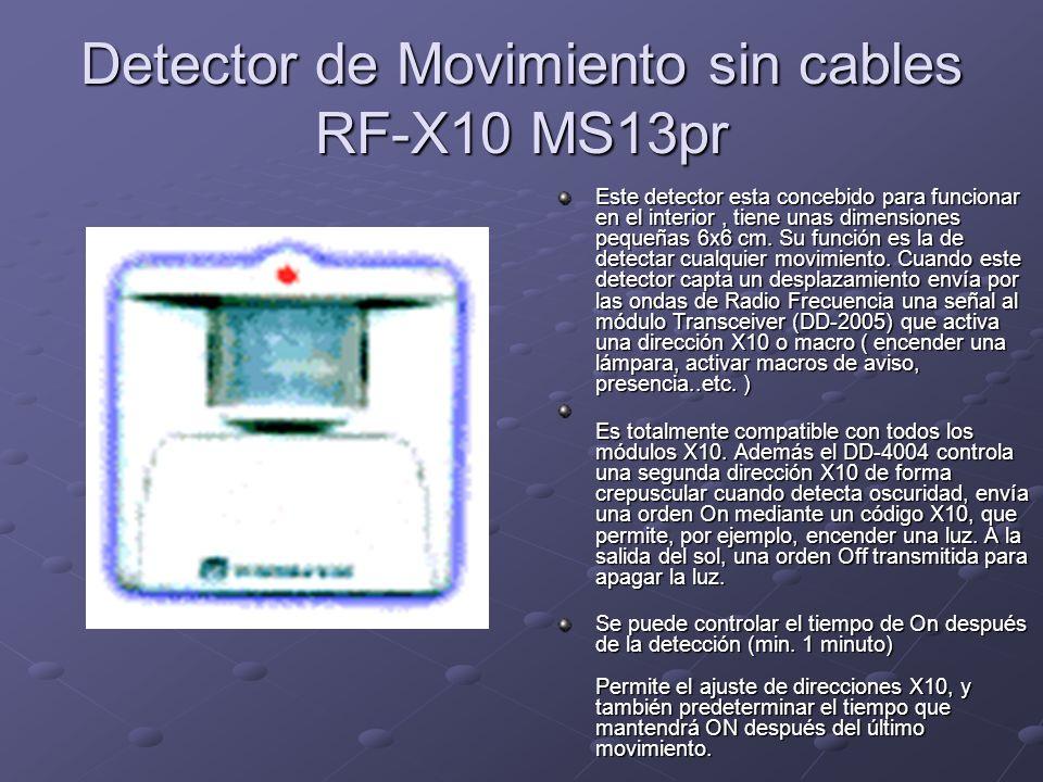 Detector de Movimiento sin cables RF-X10 MS13pr