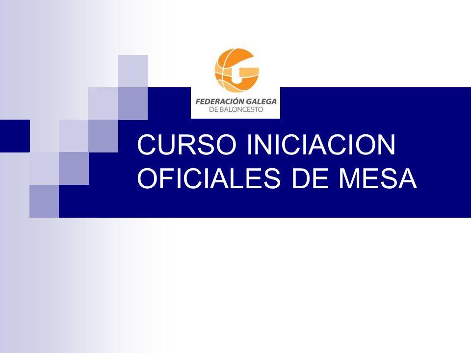CURSO INICIACION OFICIALES DE MESA