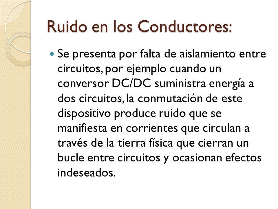 Ruido en los Conductores: