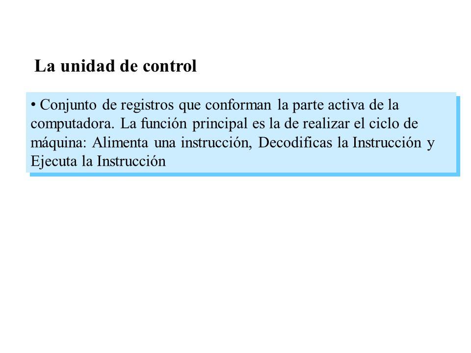 La unidad de control