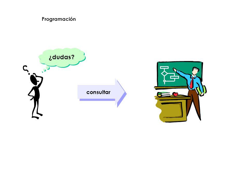 Programación ¿dudas consultar