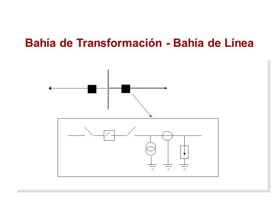 Bahía de Transformación - Bahía de Línea