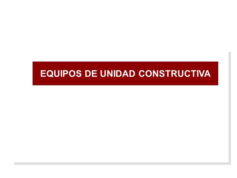 EQUIPOS DE UNIDAD CONSTRUCTIVA