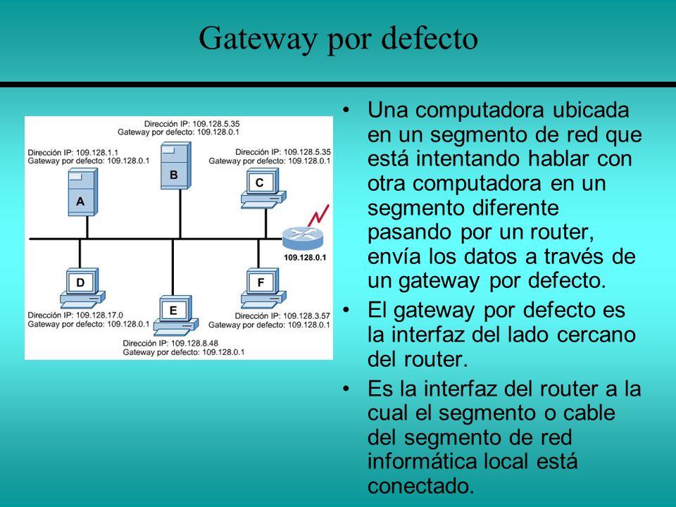 Gateway por defecto