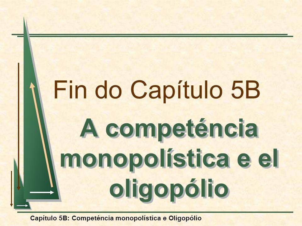 A competéncia monopolística e el oligopólio