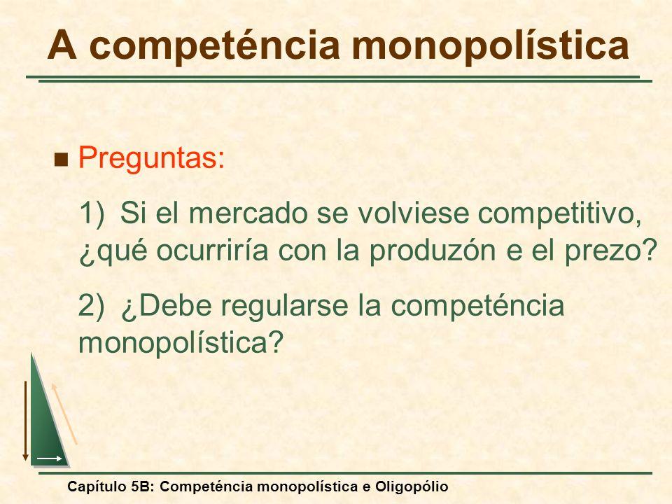 A competéncia monopolística