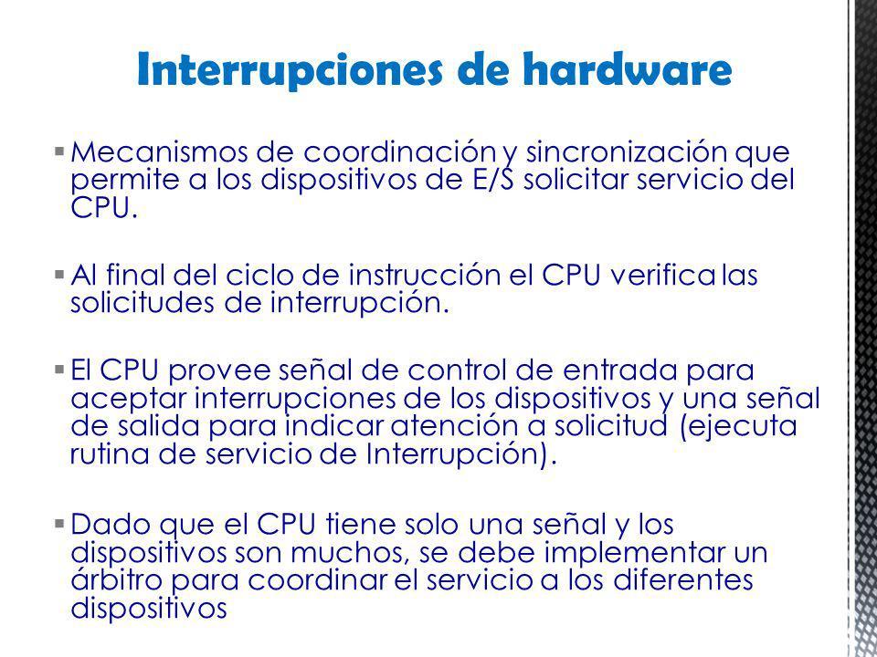 Interrupciones de hardware
