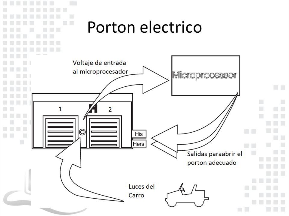 Porton electrico