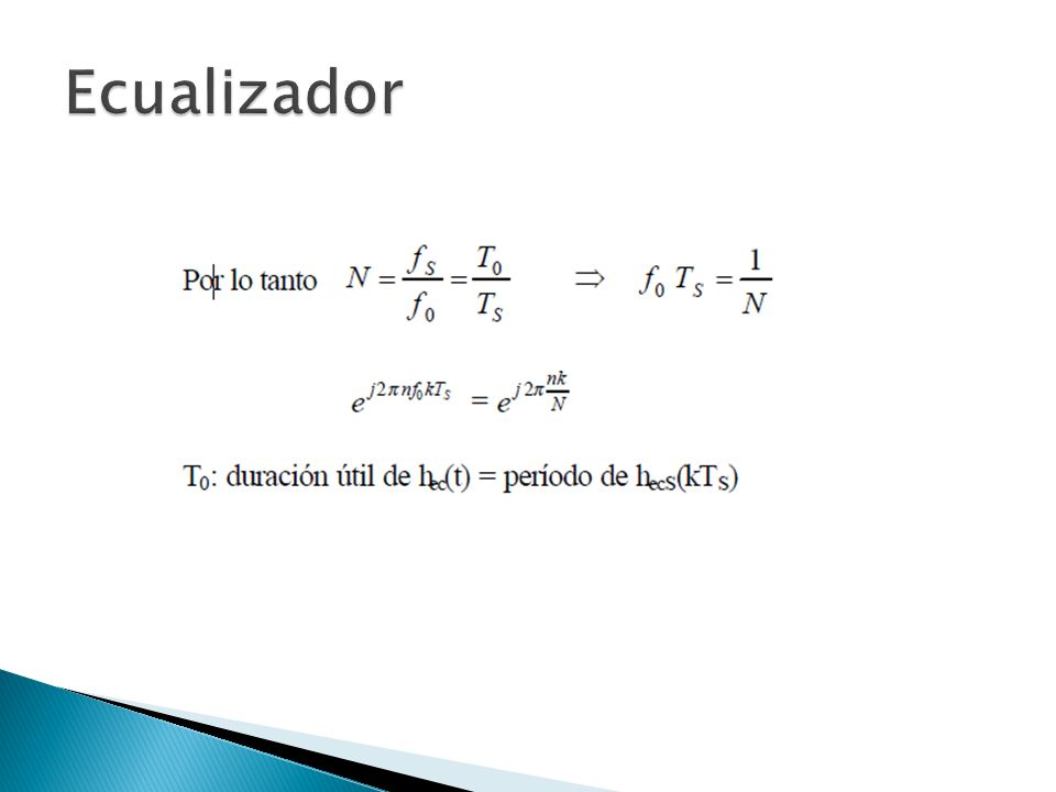 Ecualizador