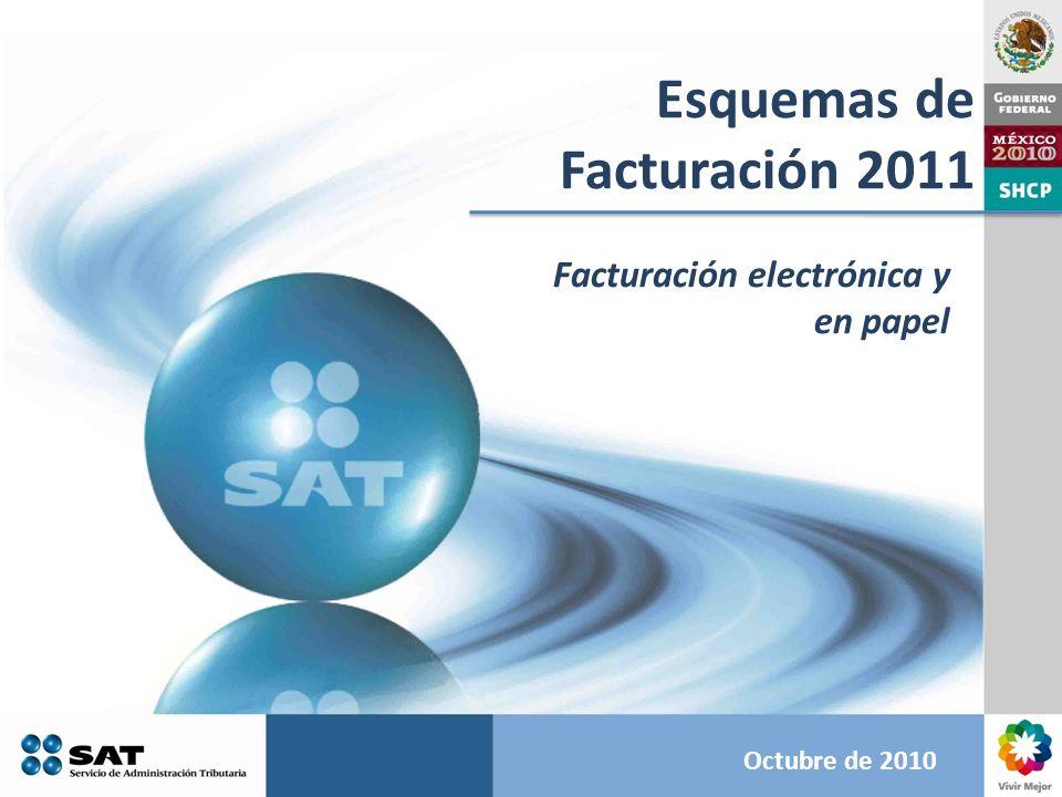 Esquemas de Facturación 2011