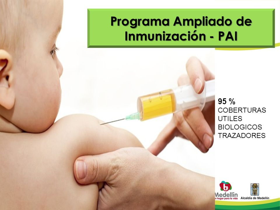 Programa Ampliado de Inmunización - PAI