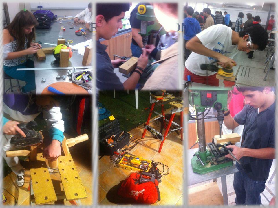 Fotos del proceso de construccion