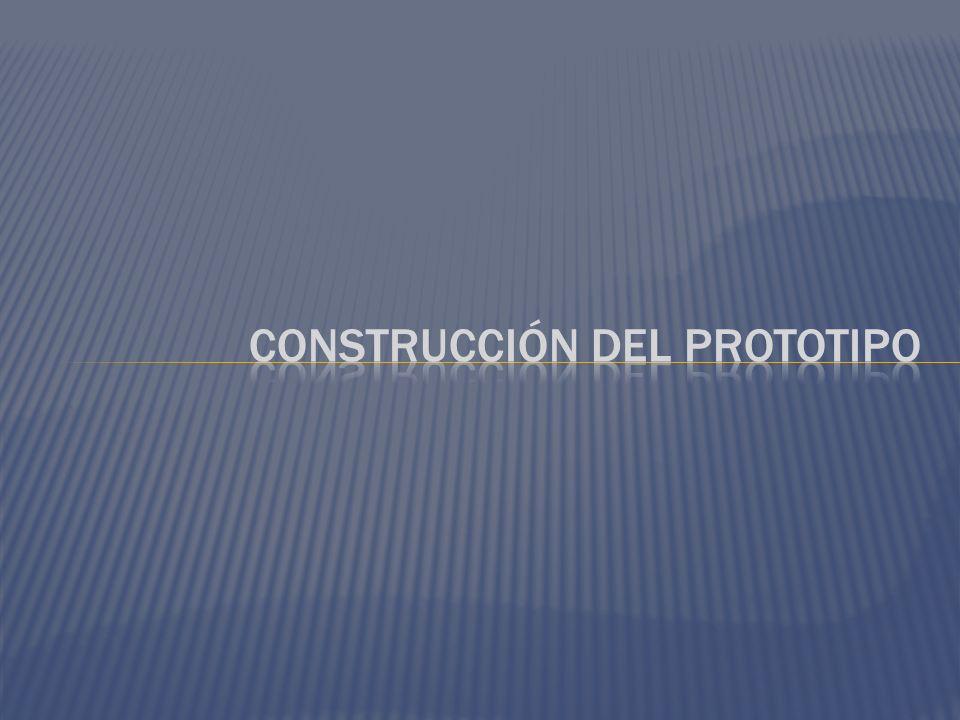 Construcción del prototipo