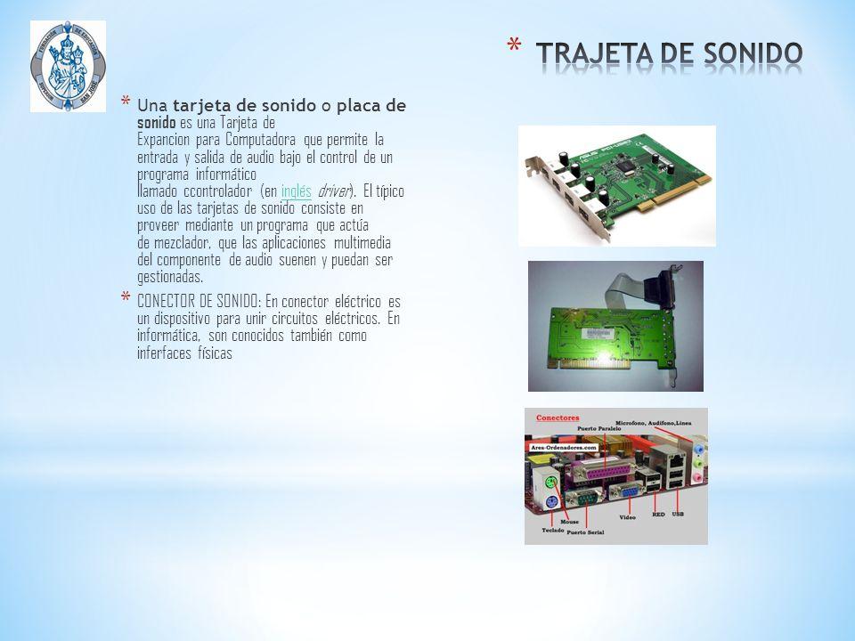 TRAJETA DE SONIDO