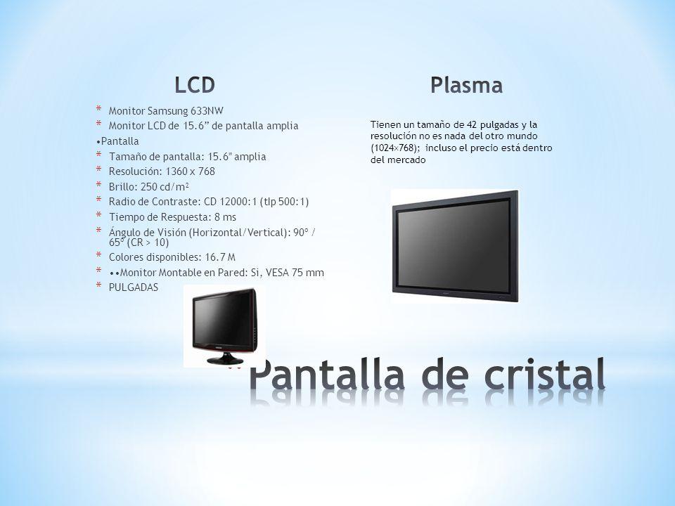 Pantalla de cristal LCD Plasma Monitor Samsung 633NW