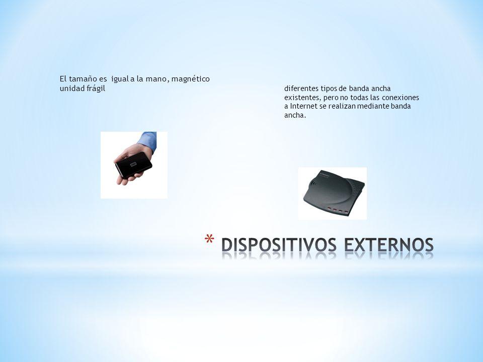 DISPOSITIVOS EXTERNOS