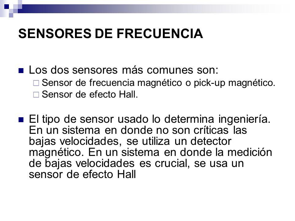SENSORES DE FRECUENCIA