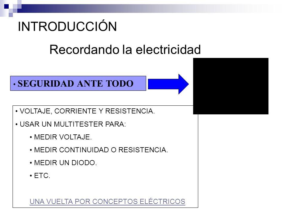 Recordando la electricidad