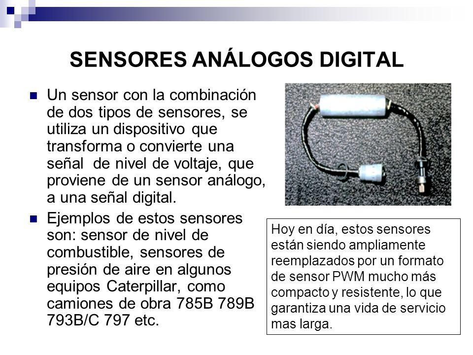 SENSORES ANÁLOGOS DIGITAL