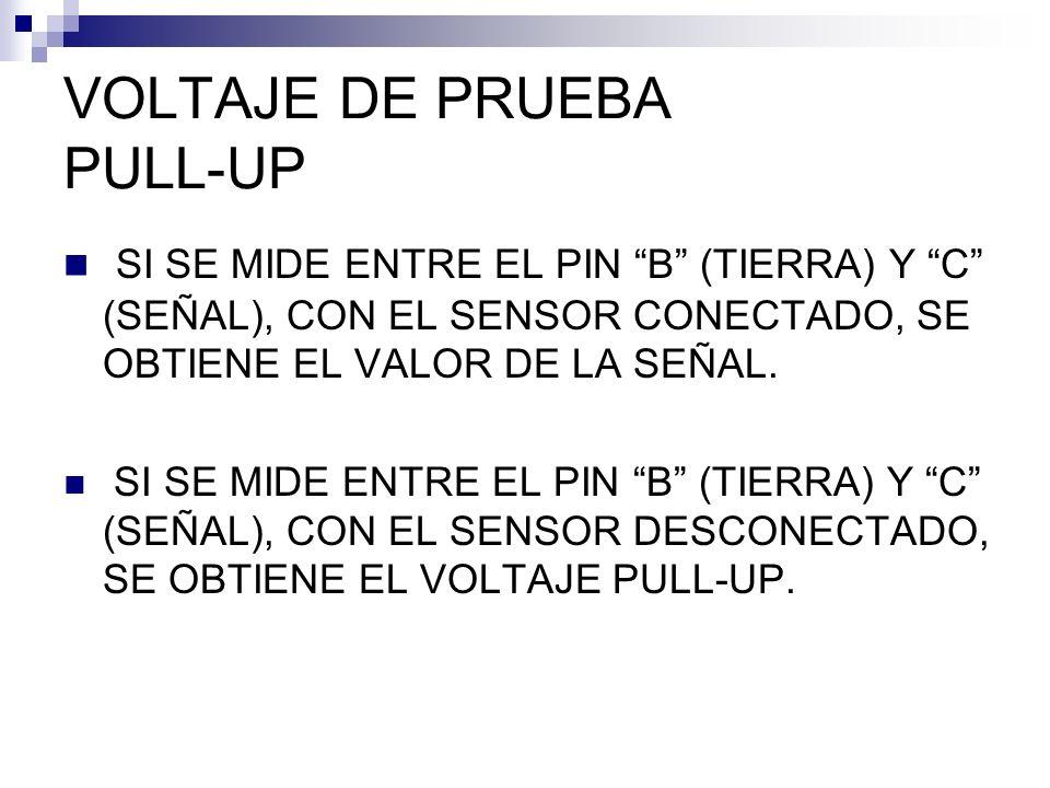 VOLTAJE DE PRUEBA PULL-UP