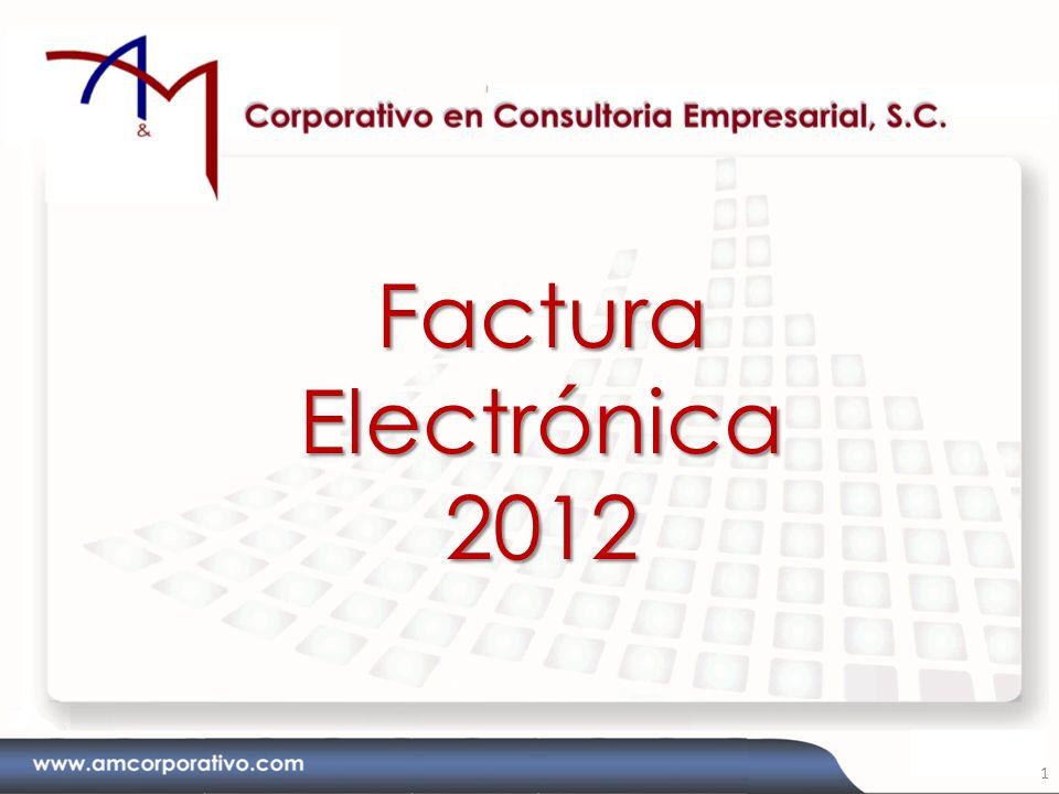 Factura Electrónica 2012