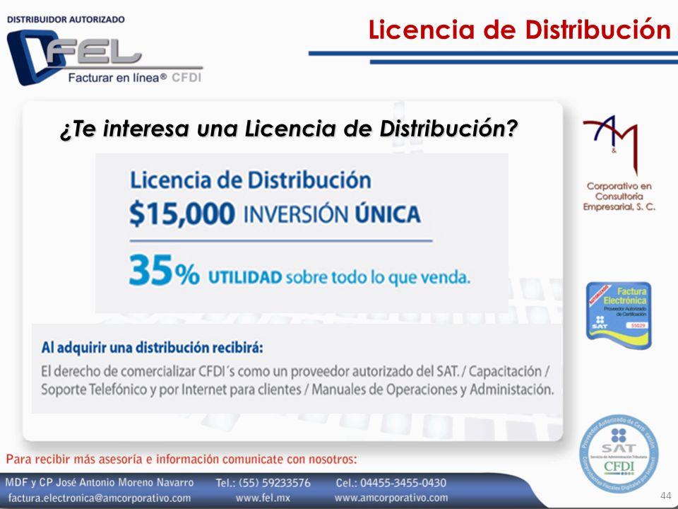Licencia de Distribución