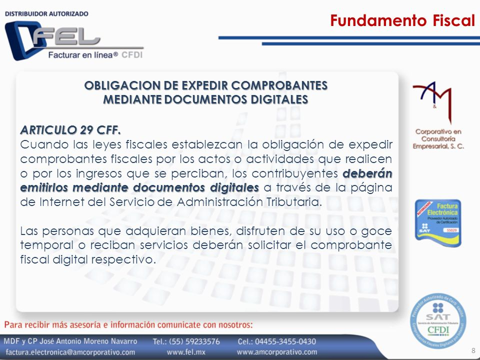 OBLIGACION DE EXPEDIR COMPROBANTES MEDIANTE DOCUMENTOS DIGITALES