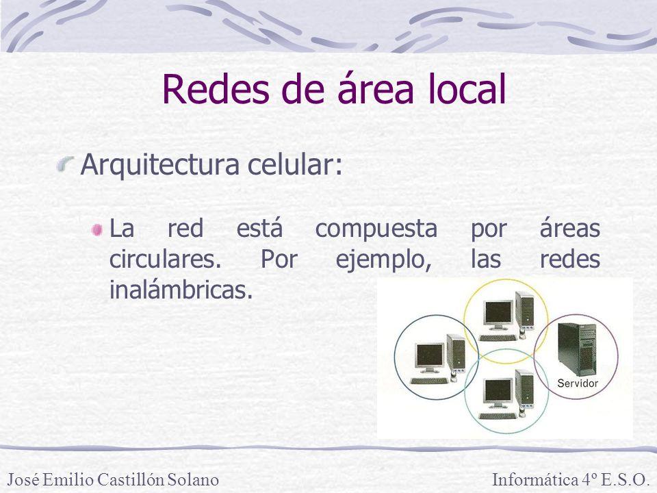Redes de área local Arquitectura celular: