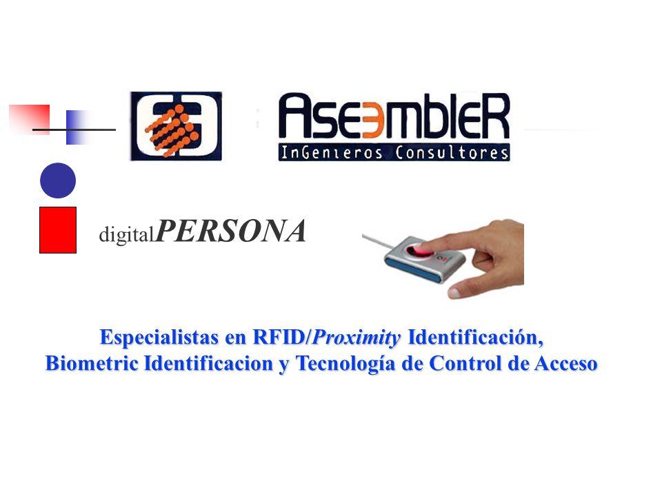 Especialistas en RFID/Proximity Identificación,