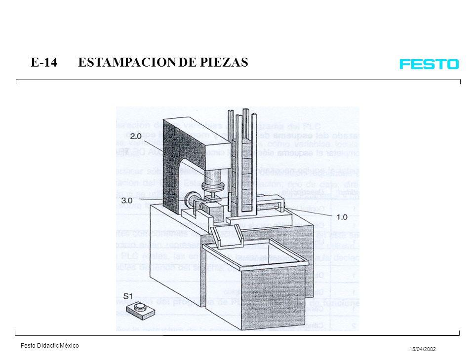 E-14 ESTAMPACION DE PIEZAS