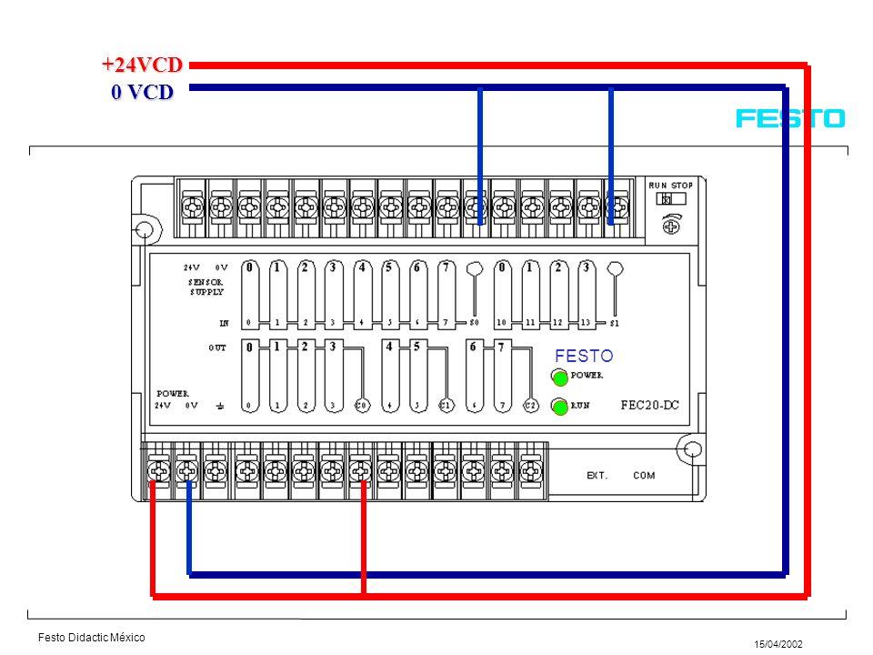 +24VCD 0 VCD FESTO 5