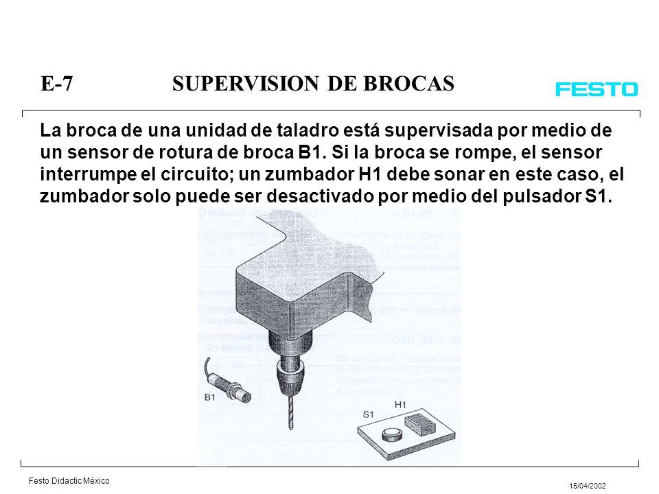 E-7 SUPERVISION DE BROCAS