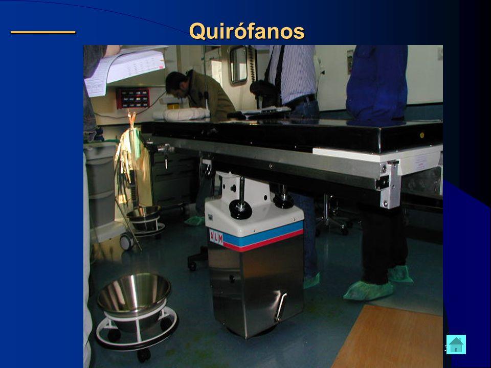 Quirófanos ______