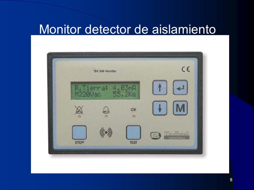 Monitor detector de aislamiento