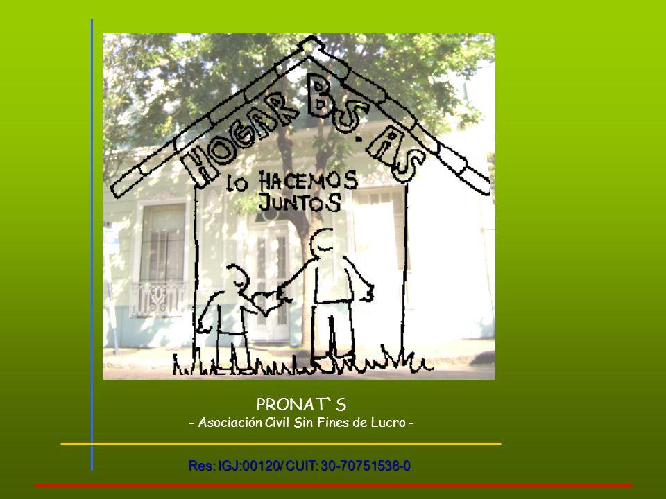 - Asociación Civil Sin Fines de Lucro -