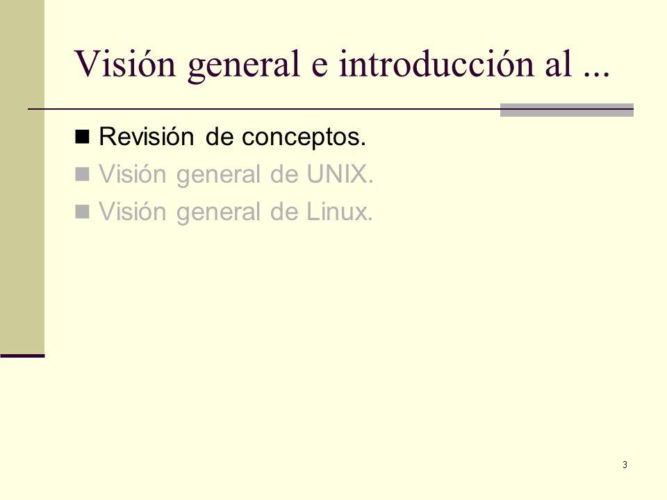Visión general e introducción al ...