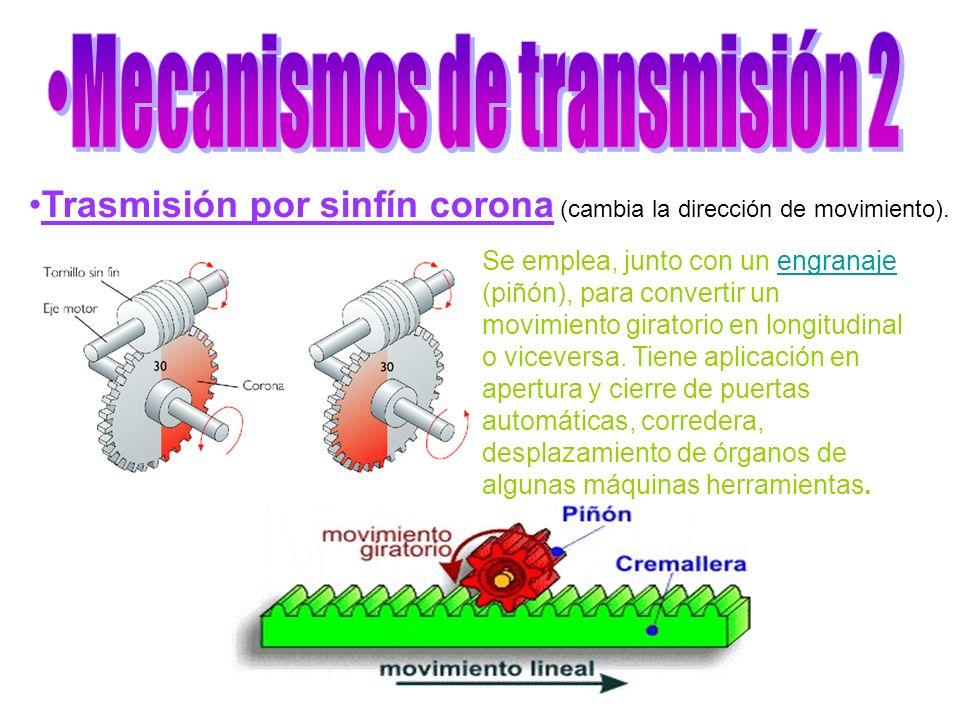 Mecanismos de transmisión 2