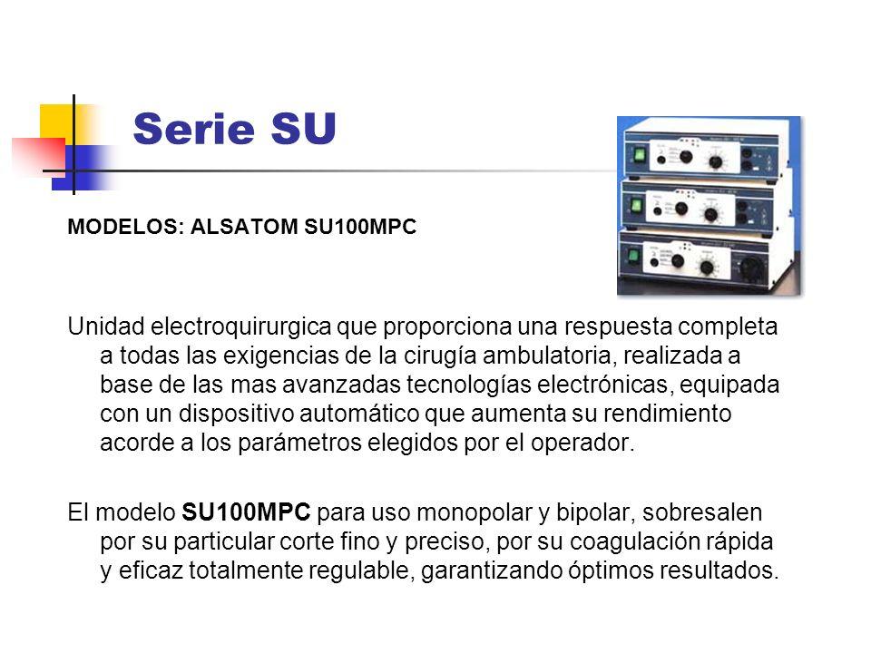 Serie SU MODELOS: ALSATOM SU100MPC.