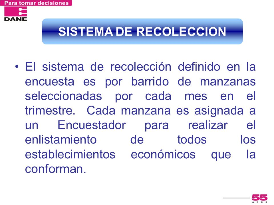 SISTEMA DE RECOLECCION