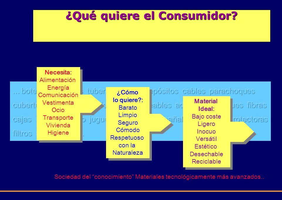 ¿Qué quiere el Consumidor