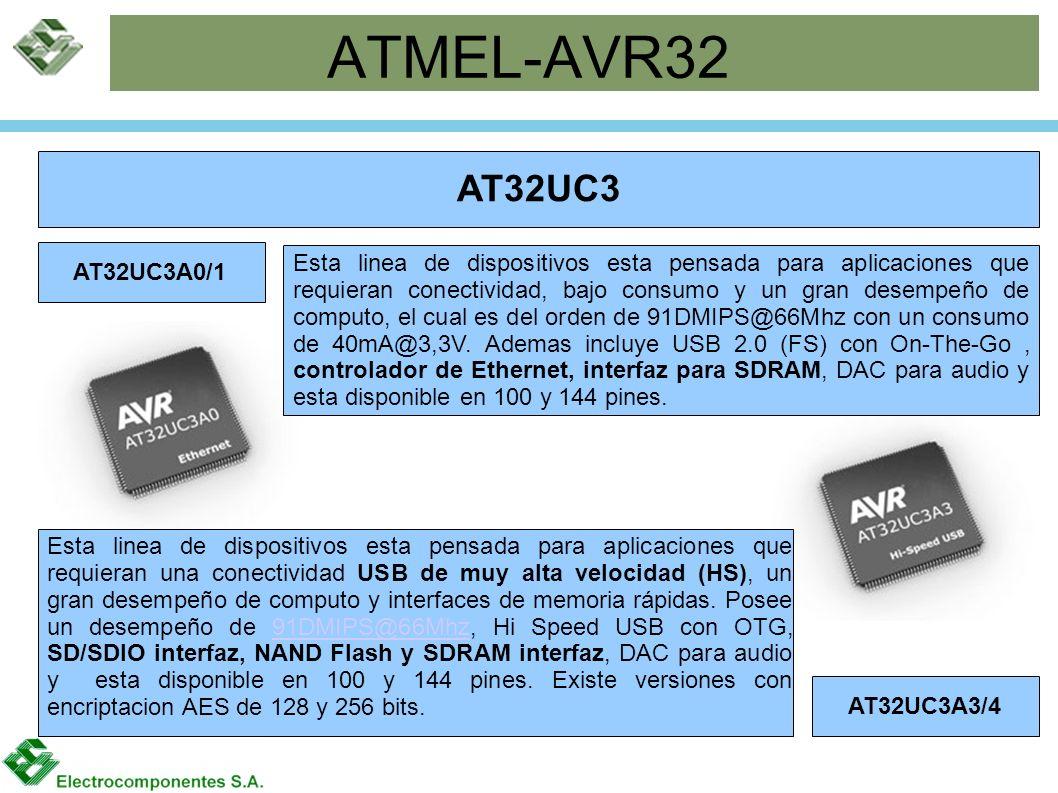ATMEL-AVR32 AT32UC3. AT32UC3A0/1.